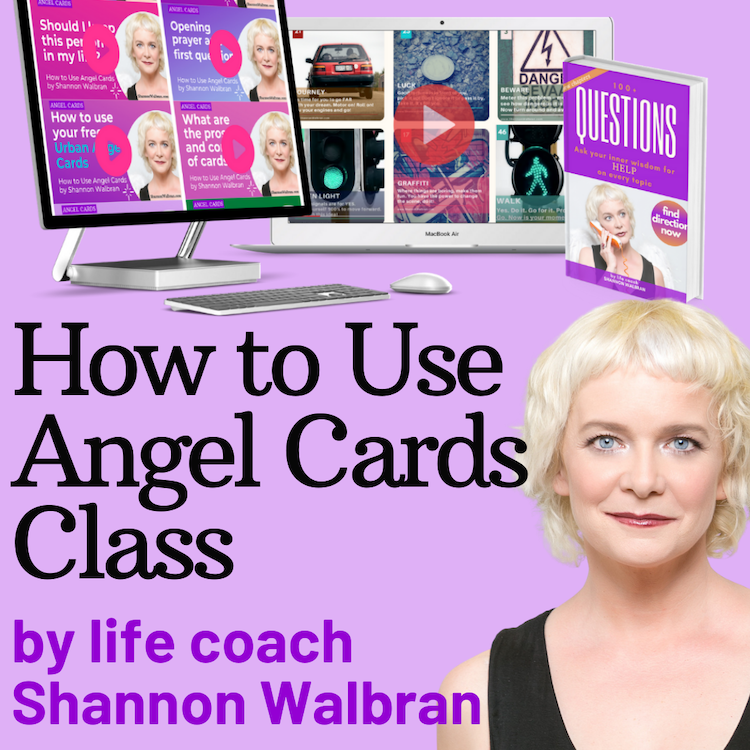 How to Use Angel Cards class logo